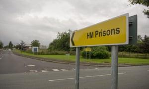 HM Prisons sign