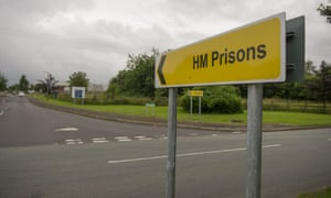 Sign to a prison