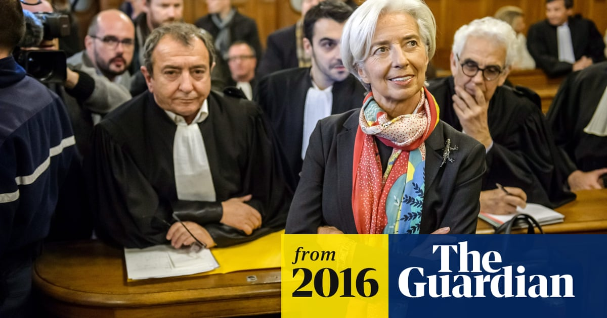 Christine Lagarde in court over €400m payout to French