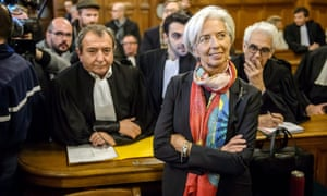Christine Lagarde in court