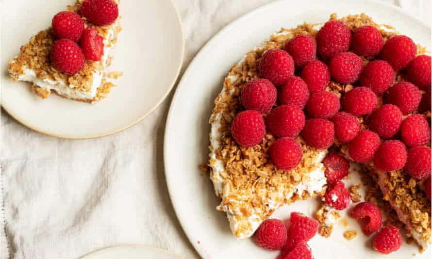 Red alert: this fruity oat cake will soften beautifully overnight.