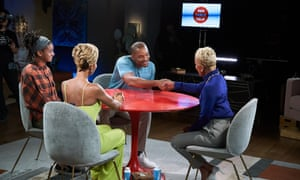 Tales from the table: three generation of Jada Pinkett Smith's family get down to business as they discuss controversial topics in Red Table Talk on Facebook Watch.