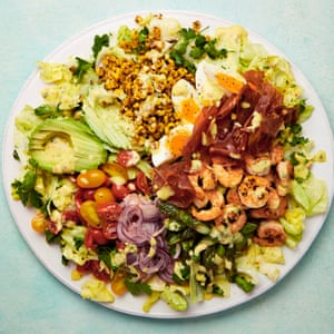 Yotam Ottolenghi's cobb salad with mango and lime dressing.