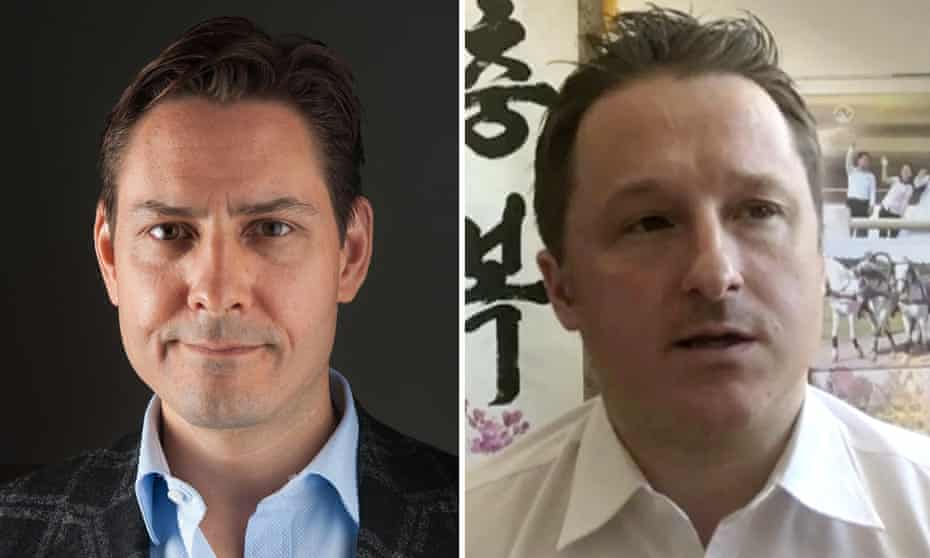 Michael Kovrig (left) and Michael Spavor (right)