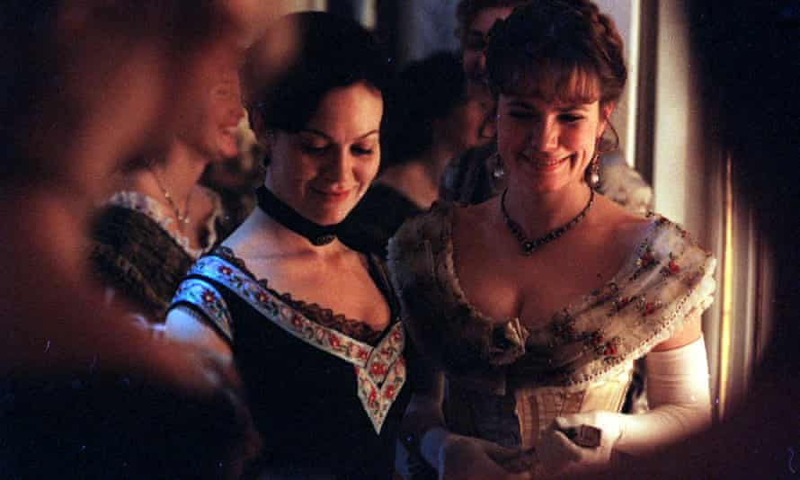 Helen McCrory as Anna and Abigail Cruttenden as Betsy in Channel 4's adaptation of Anna Karenina