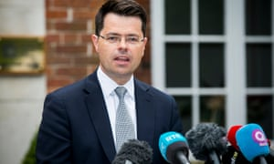 The secretary of state for Northern Ireland, James Brokenshire