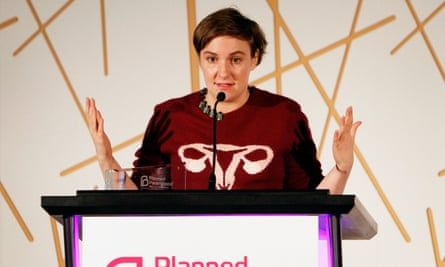 Lena Dunham attends Politics, Sex and Cocktails presented by Planned Parenthood in Los Angeles earlier this year.