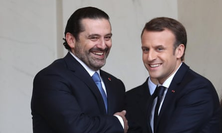 Saad Hariri had talks in Paris with Emmanuel Macron and is expected back in Lebanon by Wednesday.