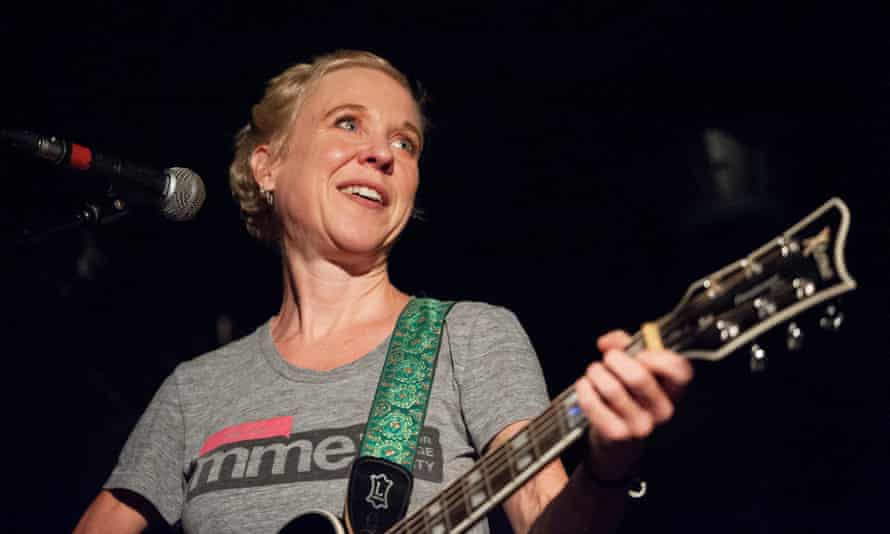 Kristin Hersh plays with the reformed Throwing Muses in Glasgow, 2014.