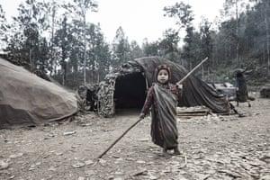 child in camp