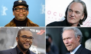 Spike Lee, Quentin Tarantino, Clint Eastwood and Tyler Perry.
