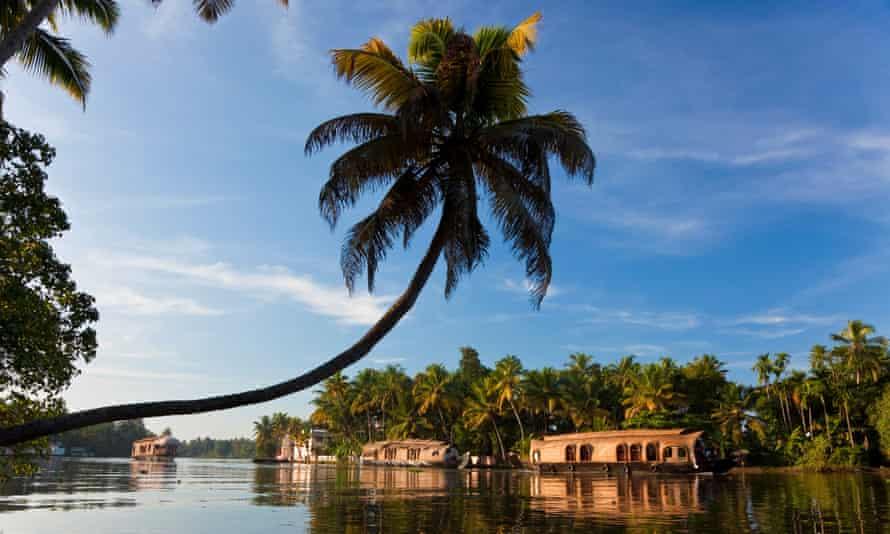 The Kerala Backwaters.