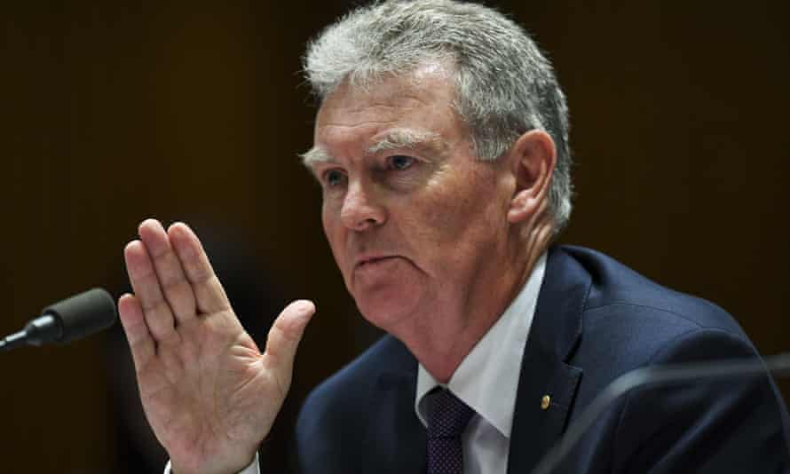 Duncan Lewis told a Senate estimates committee he had checked that there was no leak from Asio