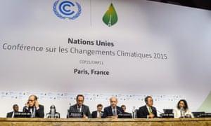 COP21 UN climate change conference in Paris.
