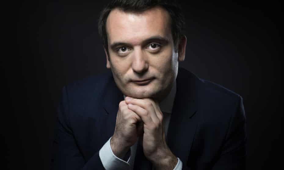 FRANCE-POLITICS-PARTY-FN-PHILIPPOTFrench far-right party Front National (FN) vice-president Florian Philippot poses in Paris, on May 13, 2016. / AFP / JOEL SAGET (Photo credit should read JOEL SAGET/AFP/Getty Images)