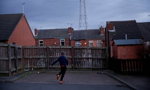 Rotherham, England, which has been the scene of high profile child sexual exploitation cases.