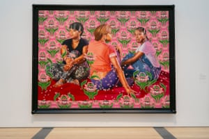 Kehinde Wiley - Three Girls in a Wood