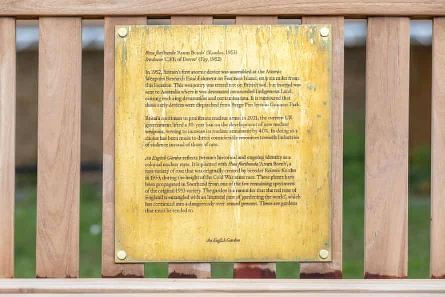 The plaque that raised objections from a group of conservative councilors.