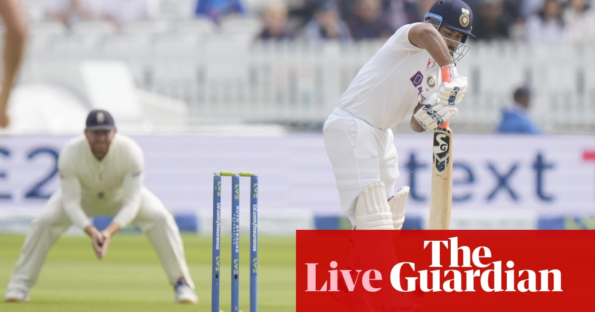 England v India – second Test, day five – live!