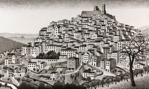 Unseen Mc Escher Sketch Goes On Public Display For First