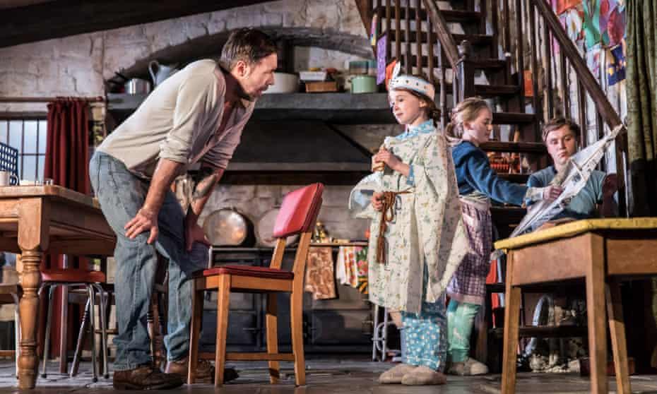 Paddy Considine, Sophia Ally, Elise Alexandre and Rob Malone in The Ferryman.
