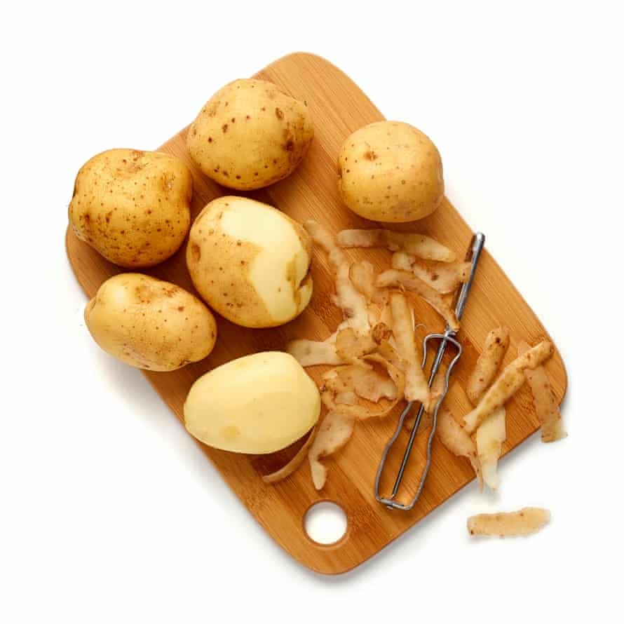 Peel your spuds.