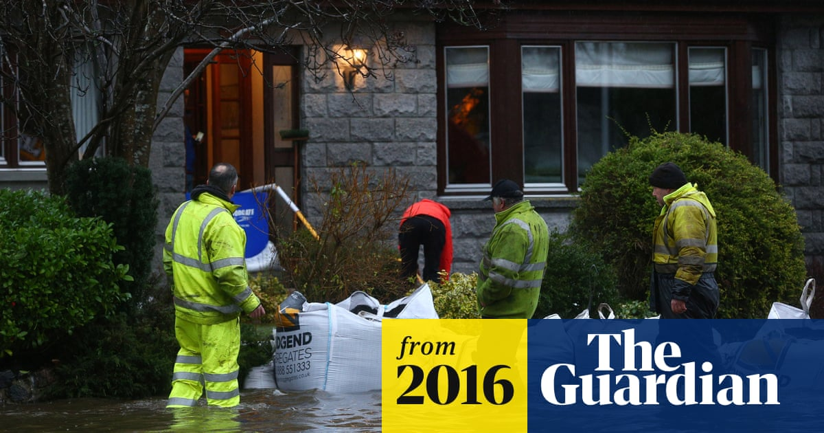 Heavy rain swells Aberdeen's river Don to highest level on ...