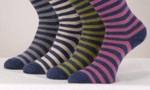 The odourless Corrymoor mohair socks