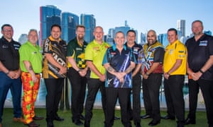 The world's best players at the Sydney Darts Masters, part of the World Series.