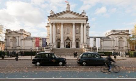 Tate Britain on Millbank in London.