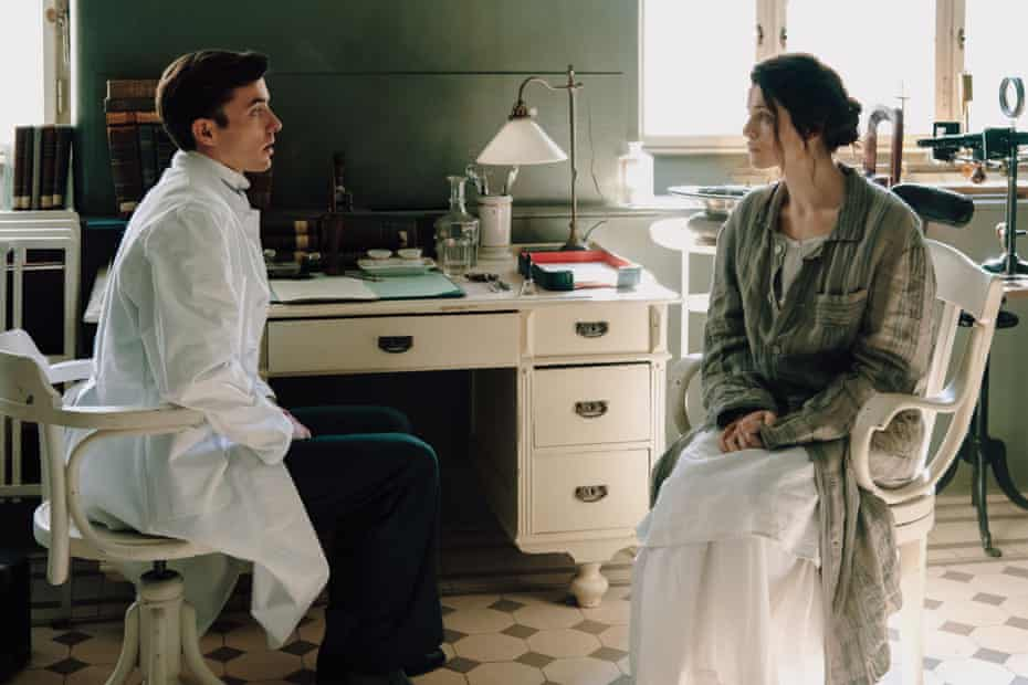 Matthew Beard and Jessica de Gouw in Vienna Blood.