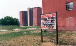Robert Taylor Homes in 1987.