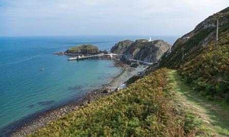 The south-west coastal path