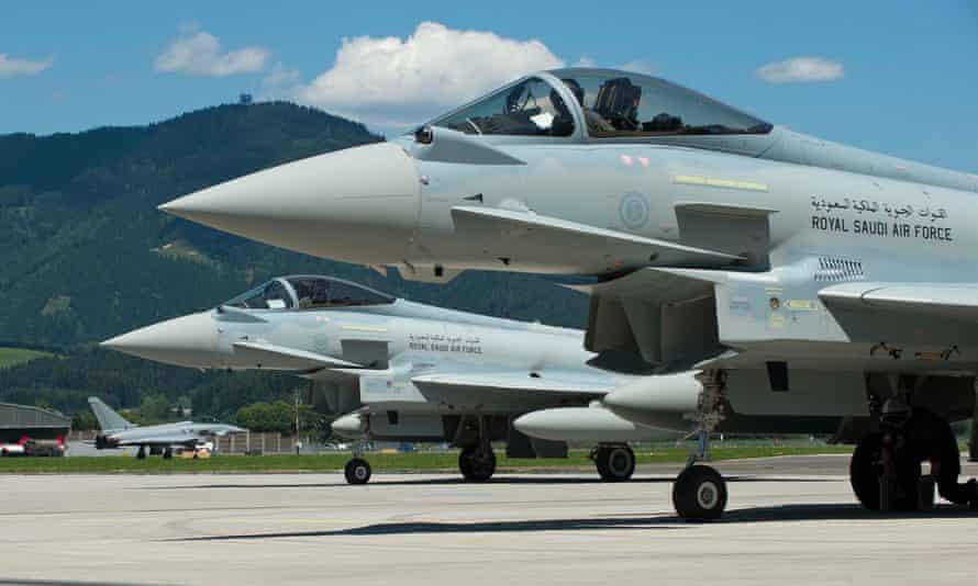 Royal Saudi Air Force Eurofighter Typhoons