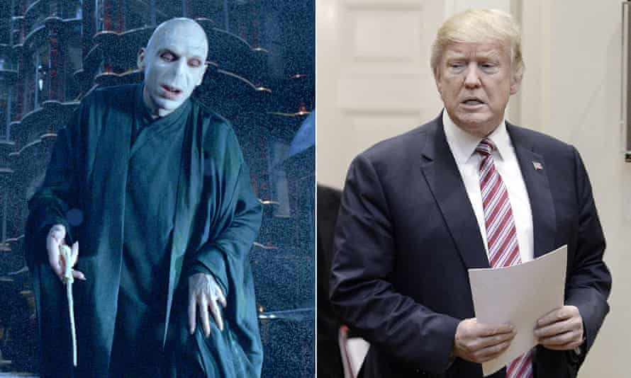 The Dark Lord, and Lord Voldemort.