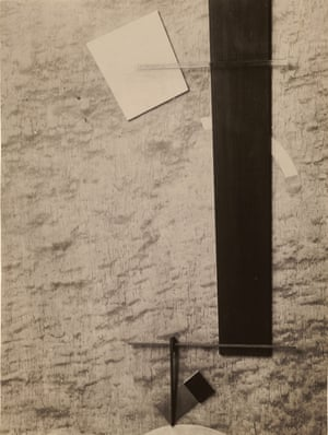 1924 Proun in Material (Proun 83) by El Lissitzky.