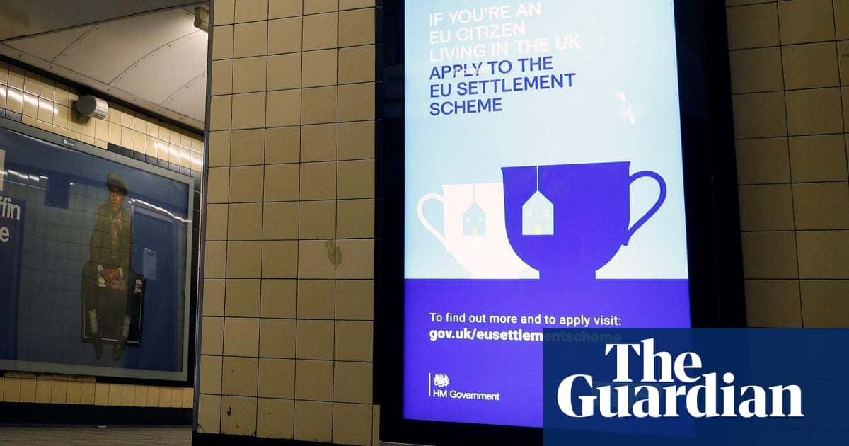 Case backlog for EU citizens to settle in UK 'may be cleared by Christmas'