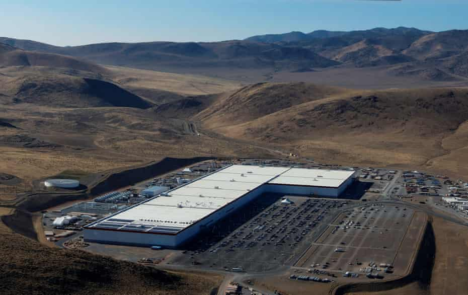 'Its boredom is hypnotic, its banality breathtaking' … the world's largest building, the Tesla Gigafactory, embodies the new architecture.