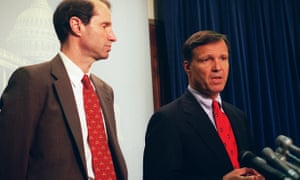 Ron Wyden and Christopher Cox, creators of section 230 of the 1996 US Telecommunications Act.
