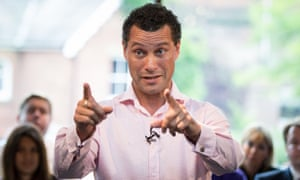 Steven Woolfe at a Ukip leadship rally in Manchester last month.