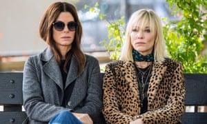 Cate Blanchett and Sandra Bullock in Ocean's 8.