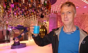 The Bionic Bar is staffed by robots – less friendly than the other staff.