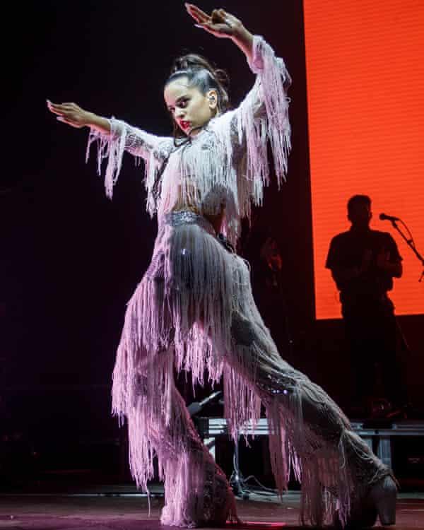 Performing at Sónar in 2018.