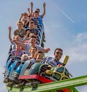 The BIG Sheep rollercoaster ride in Devon