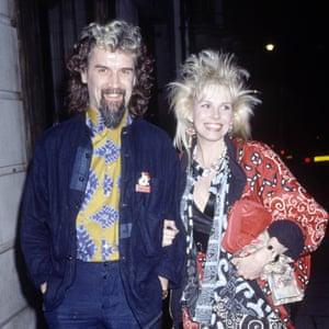 With Pamela Stephenson, 1985.