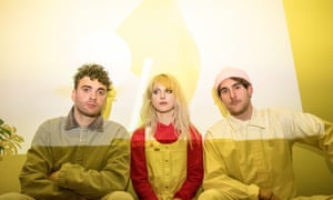 Taylor York, Hayley Williams and Zac Farro