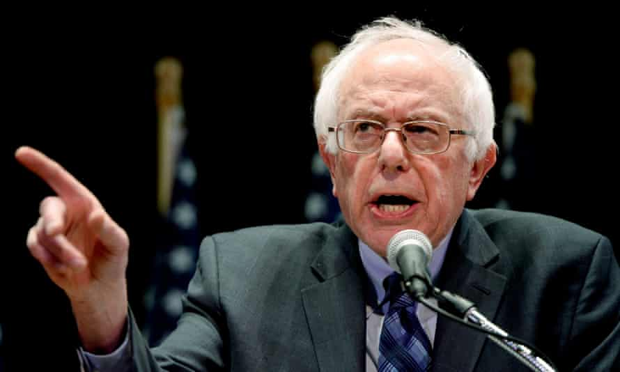 Senator Bernie Sanders: 'Let me be very clear. Greed is not good. In fact, the greed of Wall Street and corporate America is destroying the fabric of our nation.'