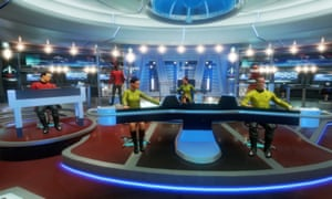 'Dream role': Star Trek: Bridge Crew.