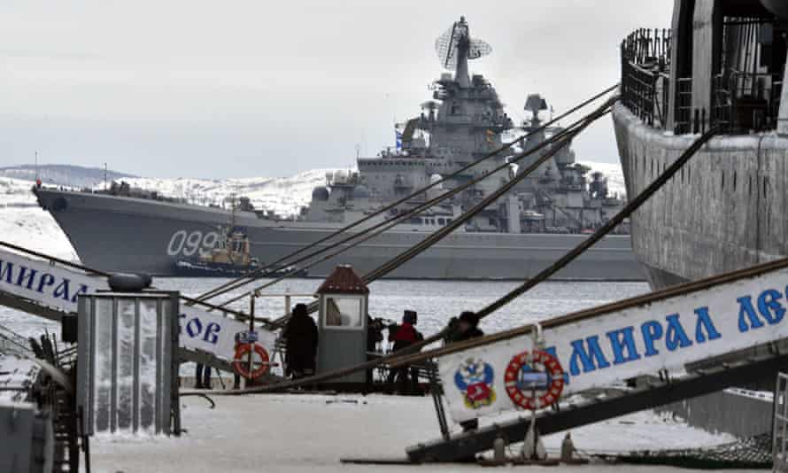 Pyotr Velikiy nuclear-powered battleship