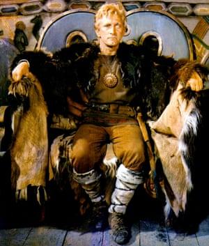 Kirk Douglas in The Vikings, 1958.